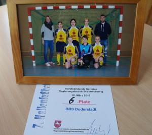 7. Damen-Hallenfußballturnier der Berufsbildenden Schulen im Regierungsbezirk Braunschweig